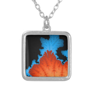 Fall And Winter Silver Plated Necklace