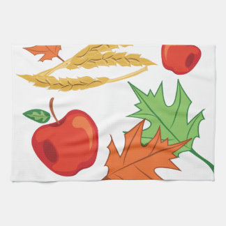 Fall Apples Kitchen Towel