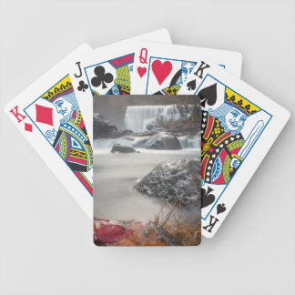 Fall at Middle falls Bicycle Playing Cards