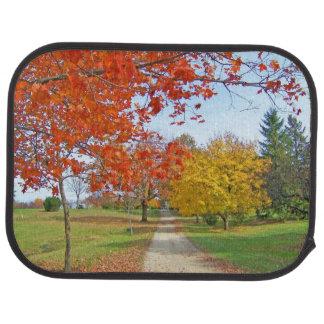 Fall Autumn Scene Auto Mat