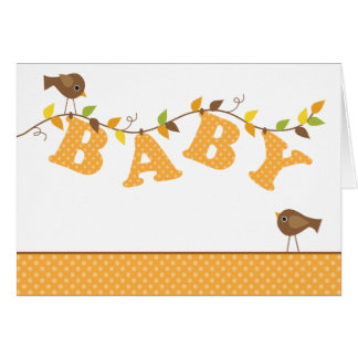 Fall Baby Vine Note Cards