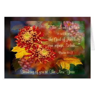 Fall Beauty ~  New year Card