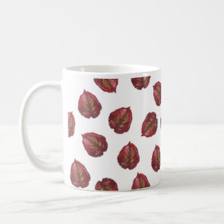 Fall Beauty - Red Leaves Coffee Mug