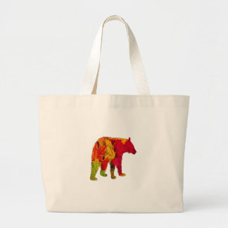 Fall Bliss Large Tote Bag
