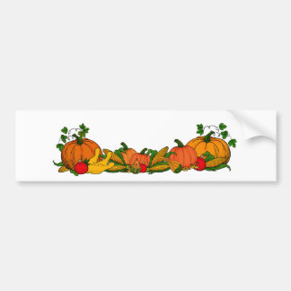 fall border bumper sticker