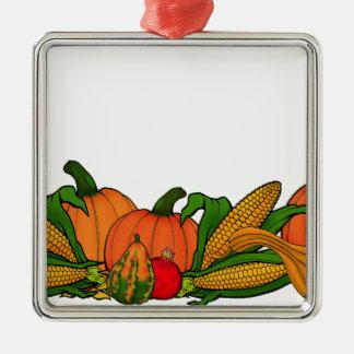 fall border metal ornament