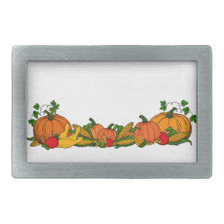 fall border rectangular belt buckles