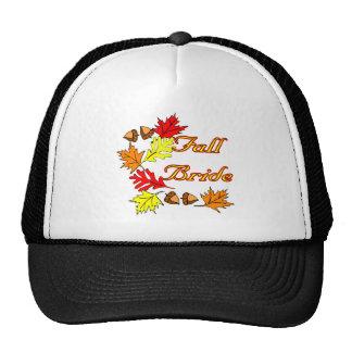 Fall Bride Hat / Cap