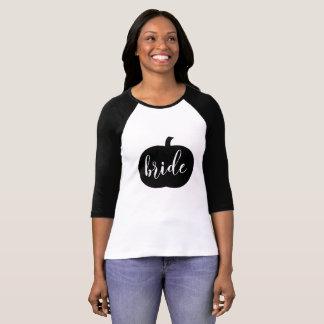 Fall Bride Pumpkin T-Shirt