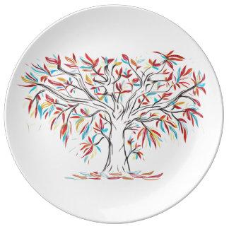 Fall Brilliance decorative plate