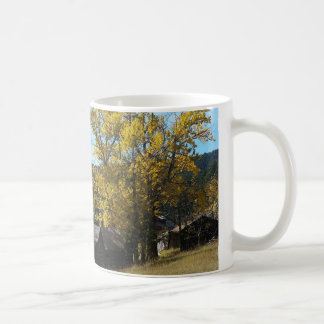 Fall Cabin in the Woods Mug