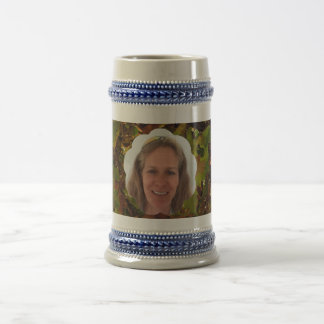 Fall Cloud Photo Frame Beer Stein