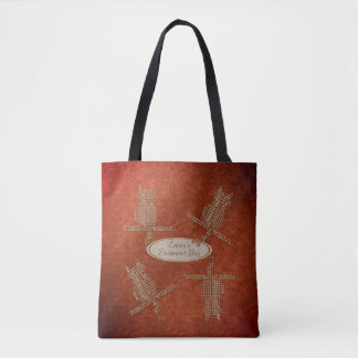 Fall Collection Emma's Statement Funny Cats Bag