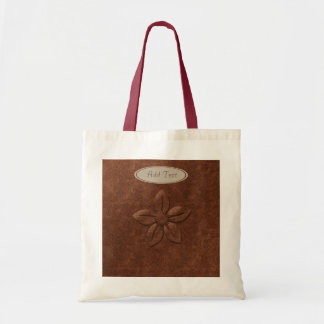 Fall Collection: Personalized Abstract Flower Tote