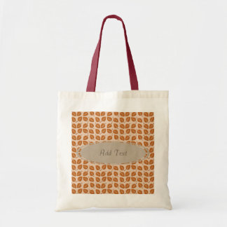 Fall Collection: Personalized Leaves Tote