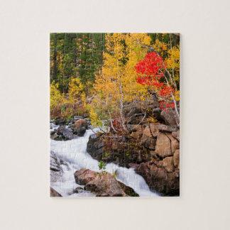 Fall color along Bishop Creek, CA Puzzle