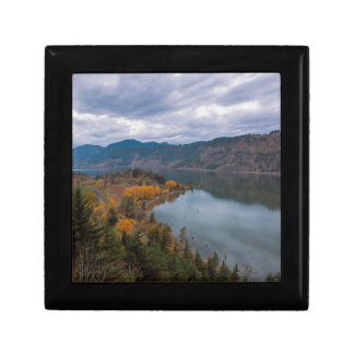 Fall Color along Columbia River Gorge Oregon Gift Box