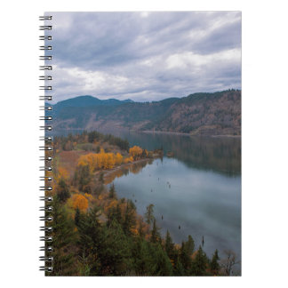 Fall Color along Columbia River Gorge Oregon Notebook