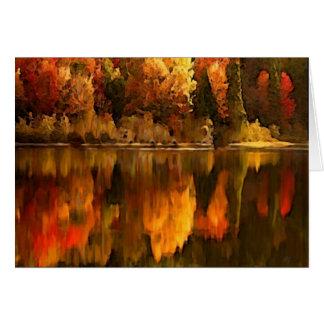 Fall color card