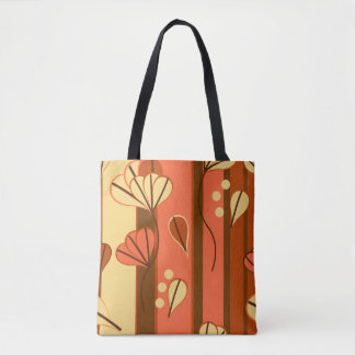 Fall Color Leaves Design tote bag