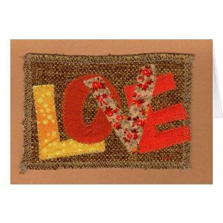 Fall Color Love Card