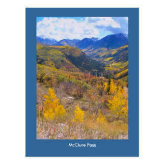 Fall Color on McClure Pass Postcard