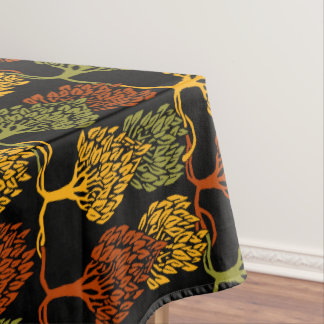 Fall Color Trees Tablecloth