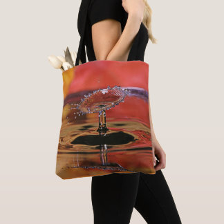 Fall Color Water Drop Tote
