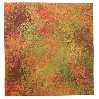 Fall Colors Abstract Napkins