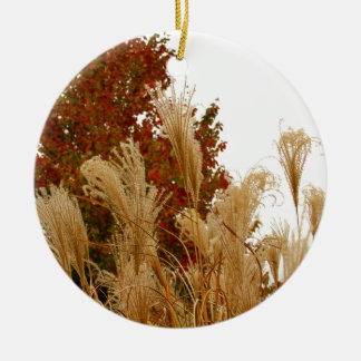 Fall Colors Autumn Season Nature Photography Ceramic Ornament