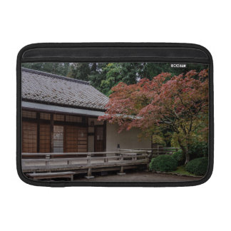 Fall colors in the garden MacBook sleeve