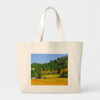 Fall colors in the Rockies Large Tote Bag