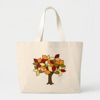 Fall Colors Large Tote Bag