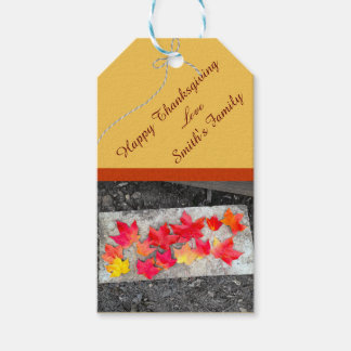 Fall Colors Maple Leaves Thanksgiving Gift Tag Pack Of Gift Tags
