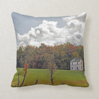 """Fall colors throw """"Bless This House"""" Throw Pillow"""