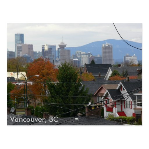 Fall Colors Vancouver, BC Postcards