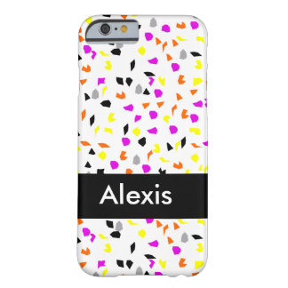 Fall Confetti Barely There iPhone 6 Case