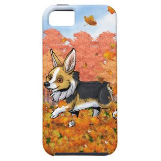 Fall Corgi iPhone 5 Case