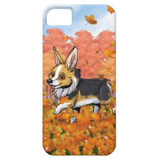 Fall Corgi iPhone 5 Covers