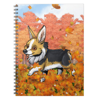 Fall Corgi Notebooks