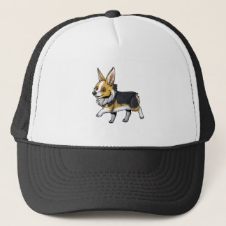 Fall Corgi Trucker Hat