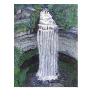 Fall Creek Falls Waterfall Postcard