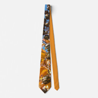 """Fall Crepe Myrtle"" Tie"