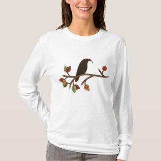 Fall Crow Seasonal womens t-shirt