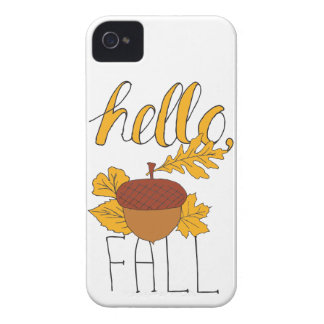 Fall Doodle iPhone 4 Case-Mate Cases