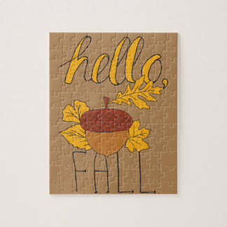 Fall Doodle Jigsaw Puzzle