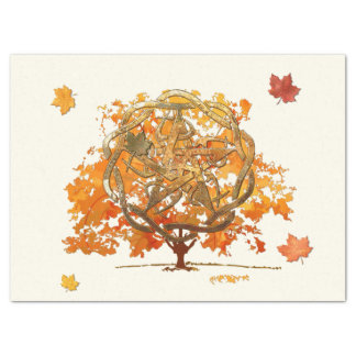 Fall Equinox Pagan Wiccan Tissue Paper