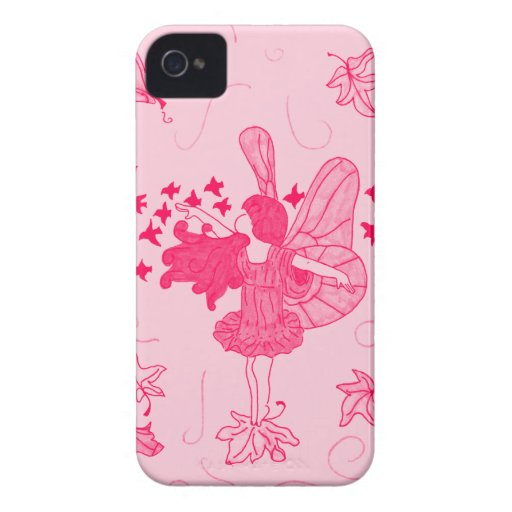 Fall Fairy Blackberry Case (Pink)