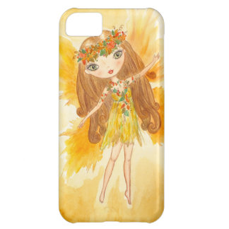 """""""Fall Fairy"""" Cover For iPhone 5C"""