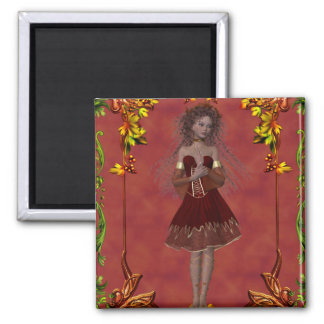 Fall Fairy Design 2 - Fantasy Magnet